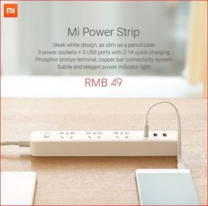 Ổ cắm thông minh Mi Power Strip chính hãng từ Xiaomi