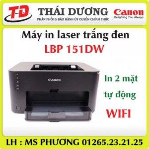 Máy in laser Canon LBP-151DW, in 2 mặt, Wifi, chính hãng