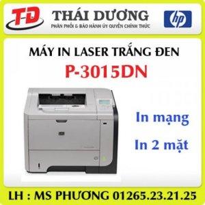 Máy in laser trắng đen A4 HP P3015dn chính hãng