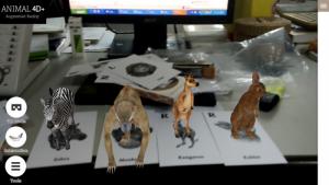 Thẻ Bài 4D Học Tiếng Anh Animal 4D