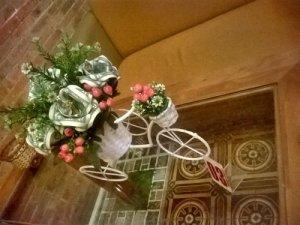 Xe đạp hoa hồng