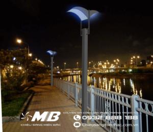 Mẫu đèn chiếu sáng cảnh quan đô thị ấn tượng nhất