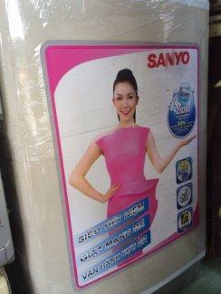 Máy giặt SANYO 6 kg hàng nhập Japan