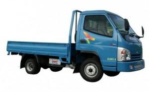 Xe tải veam CUB thùng lững 1.25T