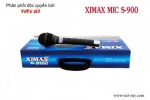 Mic hát karaoke XIMAX S900