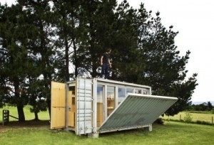 Thiết kế nhà trong thùng container tiện nghi và xinh đẹp