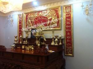 Trang trí nội thất bàn thờ gia tiên