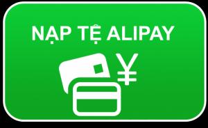 Dịch vụ nạp tiền vào tài khoản alipay taobao