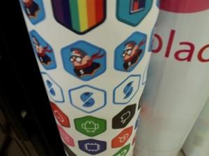 In sticker dán cốc nhựa