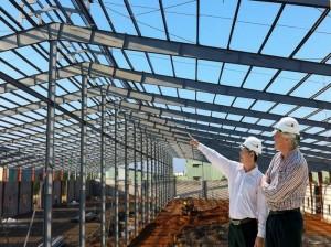 Thi công nhà thép tiền chế tại  miền trung Việt Nam