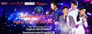 Vé Thần Tượng Bolero 7/4/2016 liveshow 2