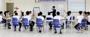 Lớp học nghề quản trị nhà hàng khách sạn tại trường cao đẳng nghề quốc tế