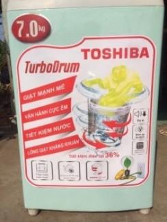 Máy giặt TOSHIBA 7kg. Bao vận chuyển, lắp đặt