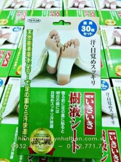 Miếng dán chân khử độc tố kenko nhật bản - 30 miếng