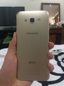 Galaxy A8 32g màu gold