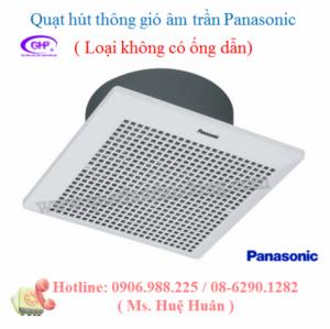 Quạt hút Panasonic âm trần không ống dẫn FV-20CUT1