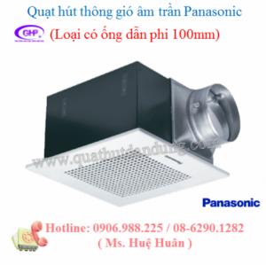 Quạt hút Panasonic âm trần có ống dẫn FV -17CU7 giá tốt nhất tại TP.HCM