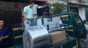 Máy nấu sữa bắp- Máy nấu sữa hạt sen- Máy nấu sữa gạo lứt- Máy nấu sữa đậu nành- Thiết bị làm lạnh nhanh .