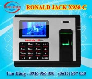 Máy chấm công Ronald Jack X938C - lắp đặt tại Xuân Lộc Đồng Nai