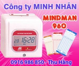 Máy chấm công Mindman M960 - giao hàng tại Xuân Lộc Đồng Nai