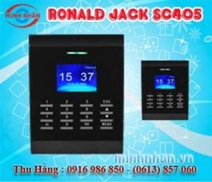 Máy chấm công Ronald Jack SC-405 - lắp đặt tại Xuân Lộc Đồng Nai