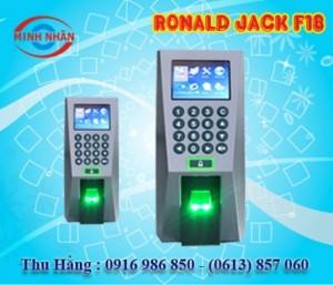 Máy chấm công Ronald Jack F18 - lắp đặt tại Xuân Lộc Đồng Nai