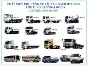 Phụ tùng xe ôtô tải, phụ tùng ô tô khách hyundai, phụ tùng hyundai mobis.