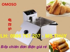 Bếp chiên nhúng đơn  OSOMO OZ-81, bếp chiên nhúng bằng điện giá rẻ