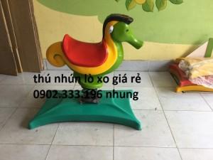 Bán thú nhún lò xo mầm non giá rẻ
