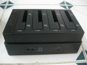 Docking 4 HDD Orico 6648US3-C, USB 3.0, Sao chép 1 ra 3 ổ cứng ko cần gắn vô máy tính
