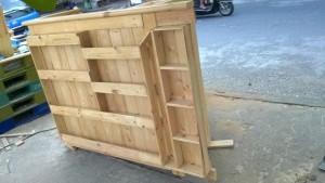 gường gỗ