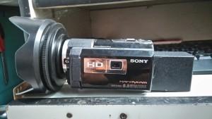 May quay phim sony HDR pj260ve