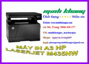 Máy in đa năng A3 HP LaserJet pro M435NW, bán máy in HP M435NW giá rẻ nhất