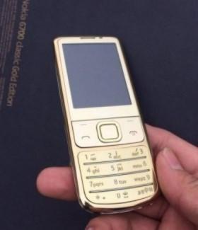 Nokia 6700 gold chất lượng đẳng cấp thời thượng nhất hiên nay