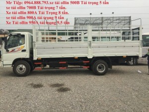 xe tải thaco ollin 500b tải trọng 5 tấn, xe tải thaco ollin 700b 7 tấn
