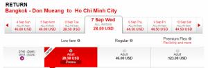 Hãng Air Asia khuyến mãi lớn khi đi Bangkok thái lan vào tháng 9