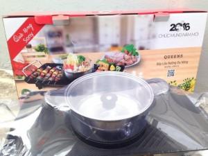 Bếp lẩu nướng đa năng BBQ Queens Sony