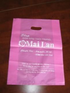 In túi nilon giá rẻ, in túi nilon quảng cáo các shop