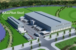 Thi công nhà thép tiền chế KhaiPhat Steel