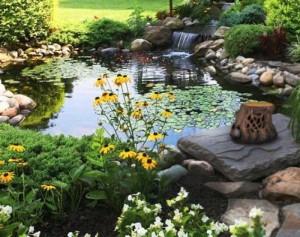 Loa sân vườn hình cây nấm, cục đá, cây đèn, gốc cây....