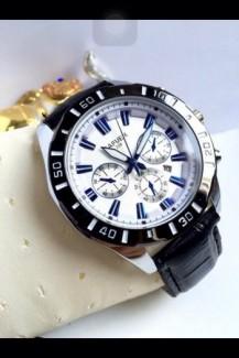 Đồng hồ nam dây da 3 nút - TT10015