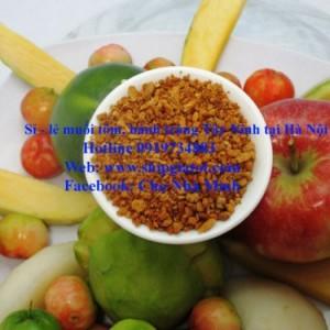 Cung cấp sỉ lẻ muối tôm Tây Ninh, bánh tráng Tây Ninh thượng hạng tại Hà Nội