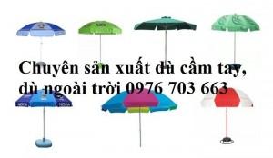 Xưởng sản xuất ô dù in logo quà tặng, quảng cáo