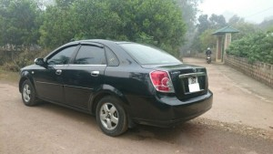 Xe Lacetti 2005 màu đen