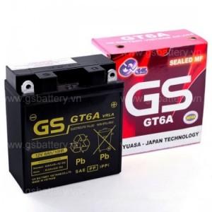 Bình ắc quy GS GT6A ( 12V-6Ah )