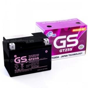 Bình ắc quy GS GTZ5S ( 12v-3.5Ah )