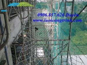 Cung cấp lưới an toàn hứng rơi cho công trình