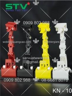 wobbler, sản xuất wobbler, wobbler nhựa, wobbler để bàn, wobbler kẹp lò xo, in wobbler