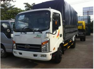 Veam 1 Tấn 9 Động Cơ Hyundai - Veam Vt200 Thùng Dài 4m4 - Veam 1t9  Thùng Mui Bạc-Kín