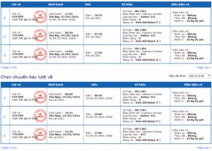Vé máy bay đi Đà Lạt giá rẻ của Vietnam Airlines